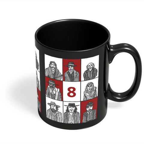 Coffee Mugs Online | Hateful 8 Poster Black Coffee Mug Online India