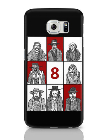 Samsung Galaxy S6 Covers | Hateful 8 Poster Samsung Galaxy S6 Case Covers Online India