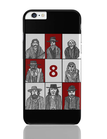 iPhone 6 Plus/iPhone 6S Plus Covers | Hateful 8 Poster iPhone 6 Plus / 6S Plus Covers Online India