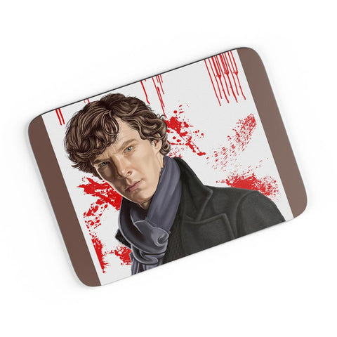 Sherlock Holmes Benedict Cumberbatch Fan Art A4 Mousepad Online India