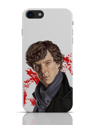 Sherlock Holmes Benedict Cumberbatch Fan Art iPhone 7 Covers Cases Online India