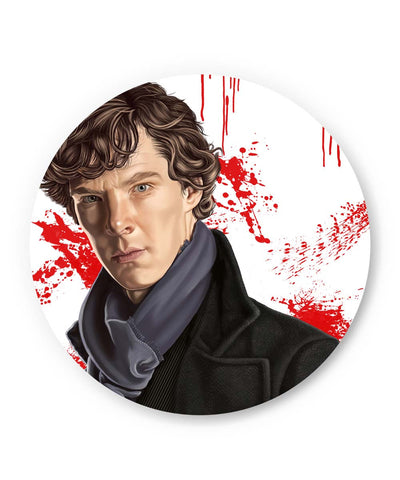 PosterGuy | Sherlock Holmes Benedict Cumberbatch Fan Art Fridge Magnet Online India by Chaitanya Kumar