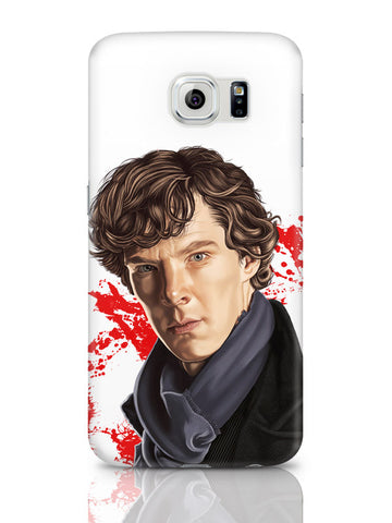 Samsung Galaxy S6 Covers & Cases | Sherlock Holmes Benedict Cumberbatch Fan Art Samsung Galaxy S6 Covers & Cases Online India