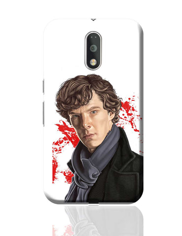 Sherlock Holmes Benedict Cumberbatch Fan Art Moto G4 Plus Online India