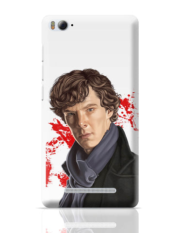 Xiaomi Mi 4i Covers | Sherlock Holmes Benedict Cumberbatch Fan Art Xiaomi Mi 4i Cover Online India