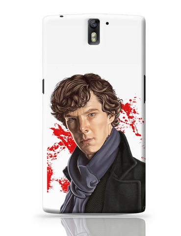 OnePlus One Covers | Sherlock Holmes Benedict Cumberbatch Fan Art OnePlus One Cover Online India