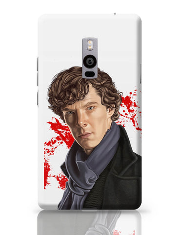 OnePlus Two Covers | Sherlock Holmes Benedict Cumberbatch Fan Art OnePlus Two Cover Online India