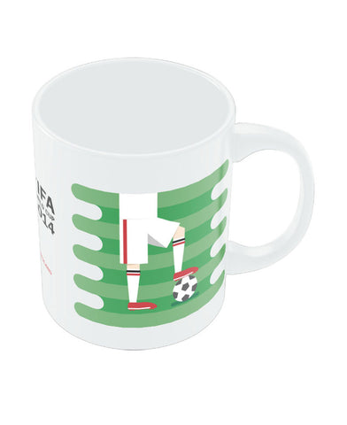 FIFA Worldcup 2014 England Field Football Mug