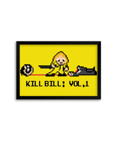 Framed Posters | Kill Bill Vol 1 Laminated Framed Poster Online India