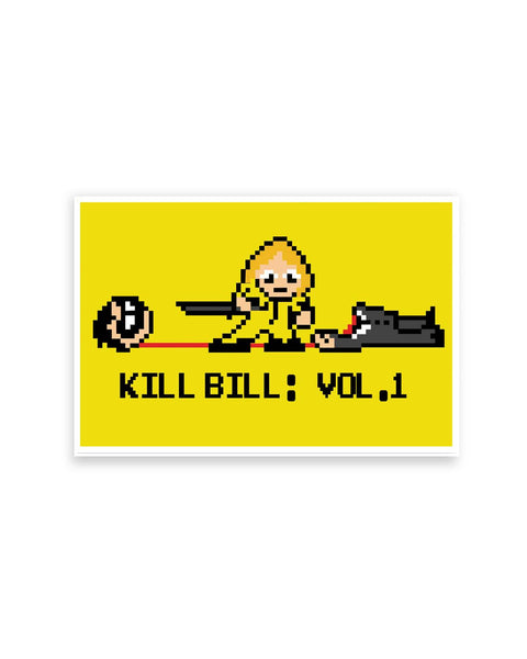 Posters Online | Kill Bill Vol 1 Poster Online India | Designed by: The Wizart