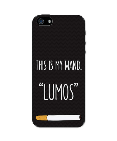 iPhone 5 / 5S Cases & Covers | This Is My Wand Lumos Cigarette iPhone 5 / 5S Case Online India