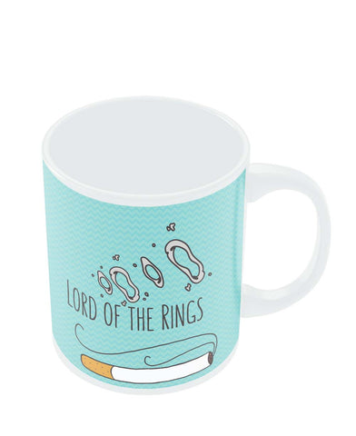 Coffee Mugs Online | Lord Of The Rings Parody Cigarette Rings Mug Online India