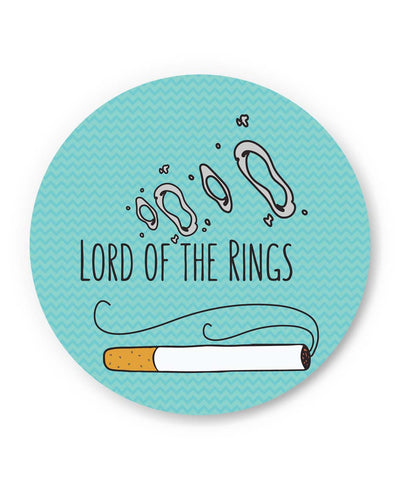 PosterGuy | Lord Of The Rings Parody Cigarette Rings Fridge Magnet Online India by Chachi Chaudhari