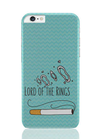 iPhone 6 Plus / 6S Plus Covers & Cases | Lord Of The Rings Parody Cigarette Rings iPhone 6 Plus / 6S Plus Covers and Cases Online India