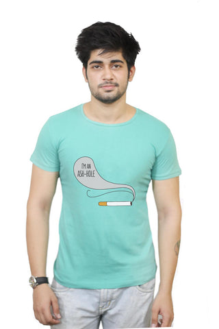 Buy I'M An Ash-Hole | Cigarette Smoke T-Shirts Online India | I'M An Ash-Hole | Cigarette Smoke T-Shirt | PosterGuy.in