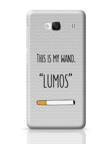 Xiaomi Redmi 2 / Redmi 2 Prime Cover| This Is My Wand Lumos Cigarette Redmi 2 / Redmi 2 Prime Cover Online India