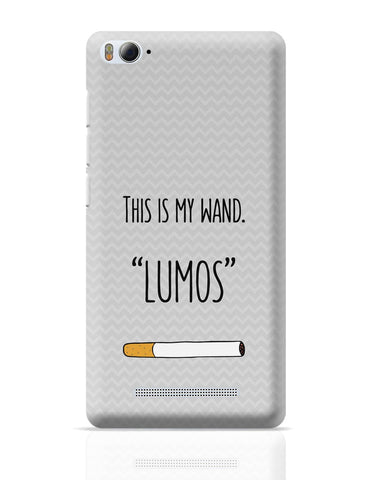 Xiaomi Mi 4i Covers | This Is My Wand Lumos Cigarette Xiaomi Mi 4i Cover Online India