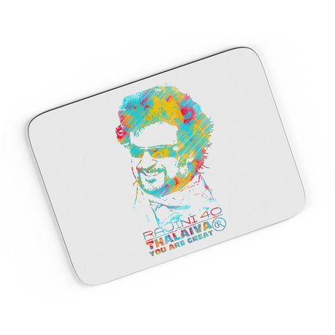 Rajinikant 40 Thalaiva | You Are Great  A4 Mousepad Online India