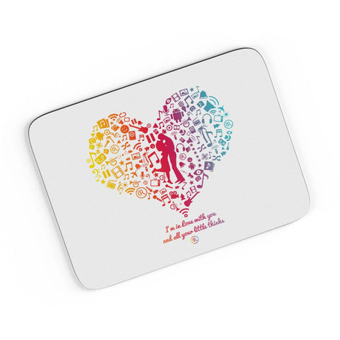 Heart Of Love A4 Mousepad Online India