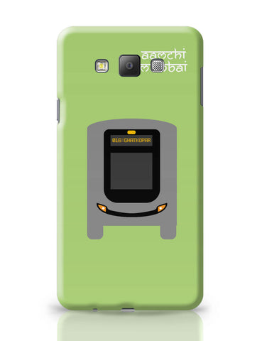 Samsung Galaxy A7 Covers | Aamchi Mumbai Quirky Bus Samsung Galaxy A7 Covers Online India