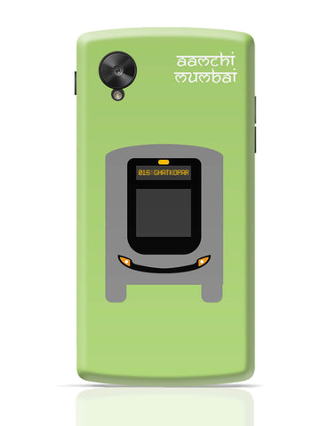 Google Nexus 5 Covers | Aamchi Mumbai Quirky Bus Google Nexus 5 Cover Online India