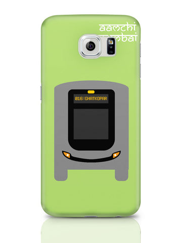 Samsung Galaxy S6 Covers & Cases | Aamchi Mumbai Quirky Bus Samsung Galaxy S6 Covers & Cases Online India