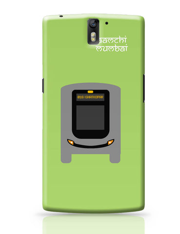 OnePlus One Covers | Aamchi Mumbai Quirky Bus OnePlus One Cover Online India
