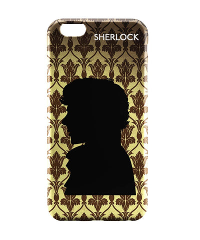 iPhone 6 Cases | Sherlock Holmes 221B Silhouette Illustration iPhone 6 Case Online India