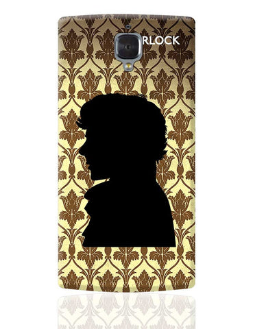 Sherlock Holmes 221B Silhouette Illustration  OnePlus 3 Cover Online India