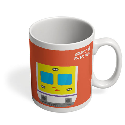 Coffee Mugs Online | Aamchi Mumbai Quirky Local Train Mug Online India