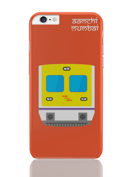 iPhone 6 Plus/iPhone 6S Plus Covers | Aamchi Mumbai Quirky Local Train iPhone 6 Plus / 6S Plus Covers Online India