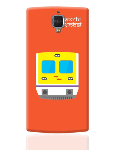 Aamchi Mumbai Quirky Local Train OnePlus 3 Cover Online India