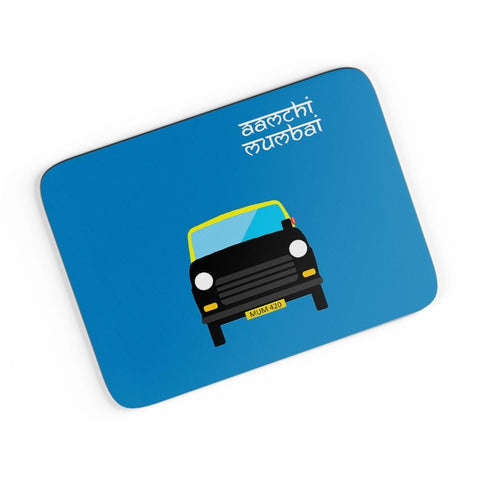 Aamchi Mumbai Quirky Taxi A4 Mousepad Online India