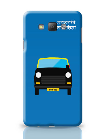 Samsung Galaxy A7 Covers | Aamchi Mumbai Quirky Taxi Samsung Galaxy A7 Covers Online India