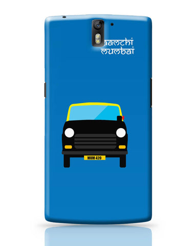 OnePlus One Covers | Aamchi Mumbai Quirky Taxi OnePlus One Cover Online India