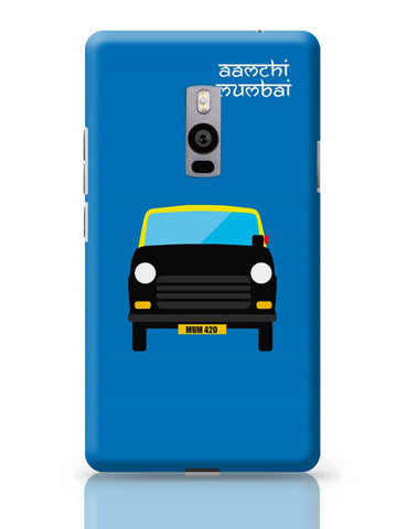 OnePlus Two Covers | Aamchi Mumbai Quirky Taxi OnePlus Two Cover Online India