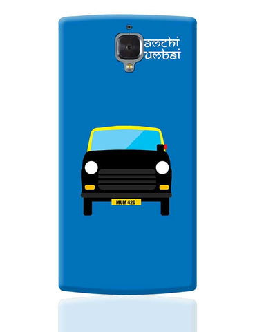 Aamchi Mumbai Quirky Taxi OnePlus 3 Cover Online India