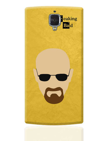 Heisenberg Minimal Breaking Bad Cover OnePlus 3 Cover Online India