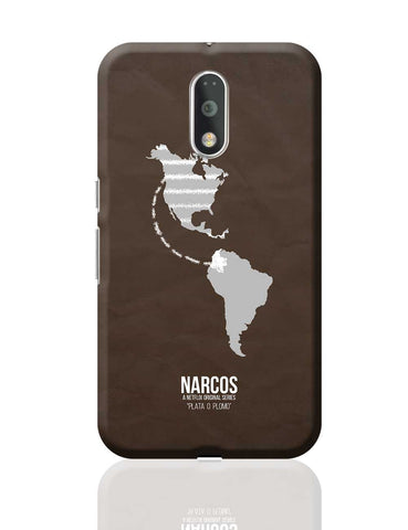 Narcos Minimal Illustration (Tv Show) Moto G4 Plus Online India