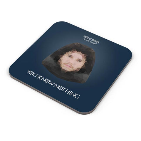 Buy Coasters Online | TV Show Polygonal Portrait Coasters Online India | PosterGuy.in