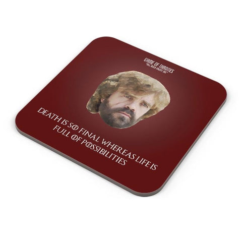 Buy Coasters Online | Tyrion Polygonal Portrait Coasters Online India | PosterGuy.in