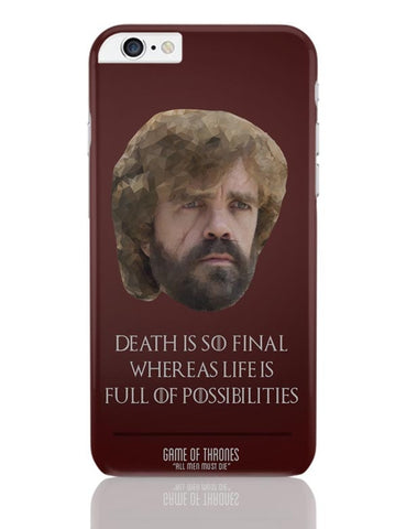 iPhone 6 Plus/iPhone 6S Plus Covers | Tyrion Polygonal Portrait iPhone 6 Plus / 6S Plus Covers Online India