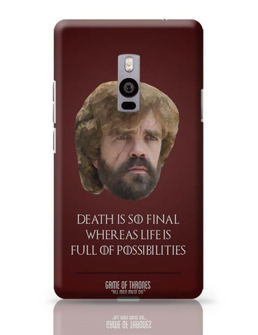 OnePlus Two Covers | Tyrion Polygonal Portrait OnePlus Two Case Cover Online India