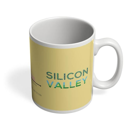 Coffee Mugs Online | Silicon Valley (TV Show) Minimal Illustration Coffee Mug Online India