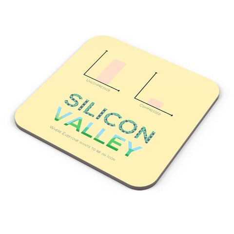 Buy Coasters Online | Silicon Valley (TV Show) Minimal Illustration Coasters Online India | PosterGuy.in