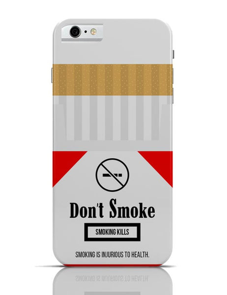 Cigarette Packet - No Smoking Quirky  iPhone 6 6S Covers Cases Online India
