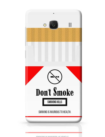 Cigarette Packet - No Smoking Quirky  Redmi 2 / Redmi 2 Prime Covers Cases Online India