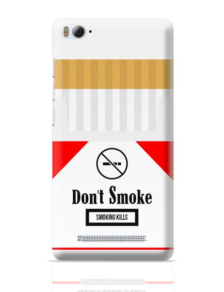 Cigarette Packet - No Smoking Quirky  Xiaomi Mi 4i Covers Cases Online India