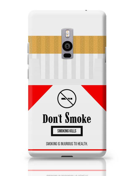 Cigarette Packet - No Smoking Quirky  OnePlus Two Covers Cases Online India