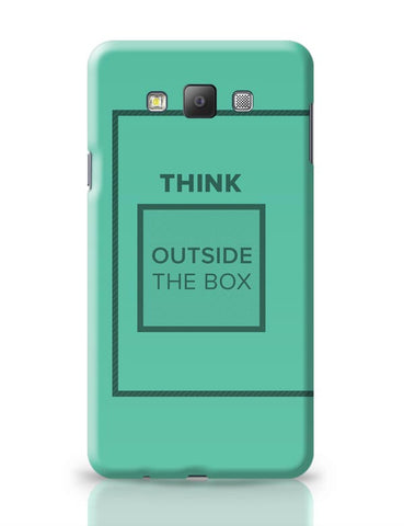 Think Outside The Box- Motivational Quote  Samsung Galaxy A7 Covers Cases Online India